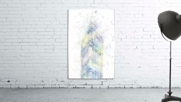 Modern Art BIG BEN | watercolor