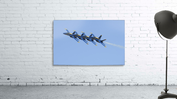 U.S. Navy flight demonstration squadron the Blue Angels.