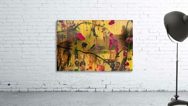 Oriental Painting. Japanese Style