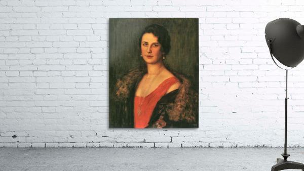 Mrs. Patzak by Franz von Stuck