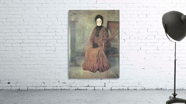 My grandmother by Joseph Rippl-Ronai