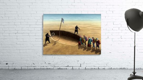 Last emigration by Krzysztof Grzondziel