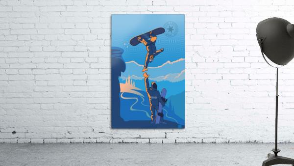 snowboard highfive