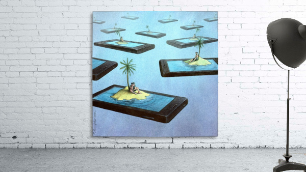 Islands Print