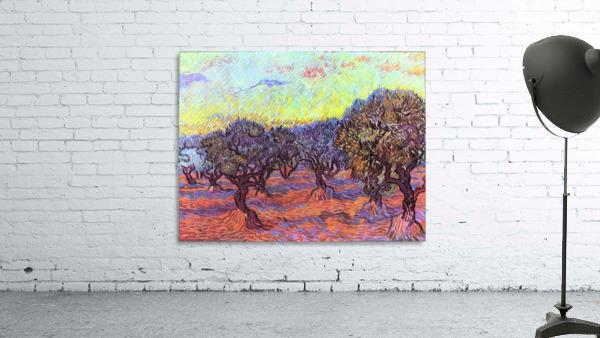 Olive Trees -2- by Van Gogh