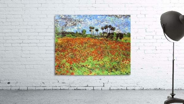 Poppy Fields by Van Gogh