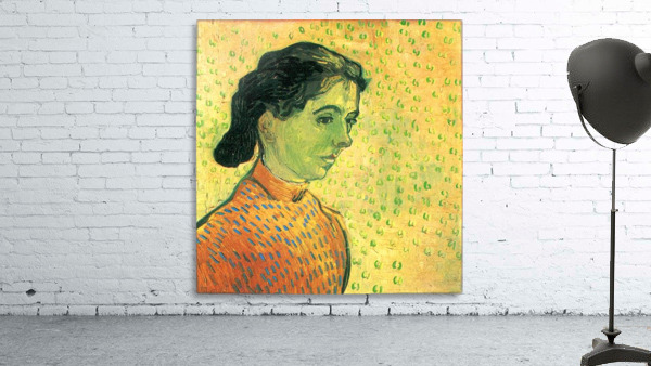 Portrait of a girl by Van Gogh