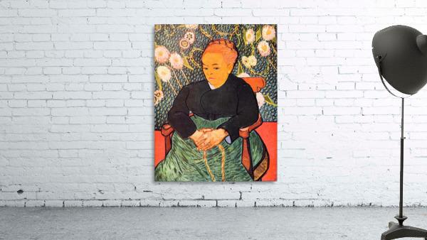 Portrait of Augustine Roulin (La Berceuse by Van Gogh