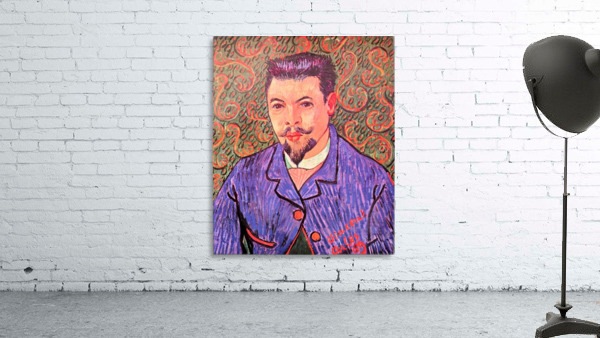 Portrait of Dr. Rey by Van Gogh