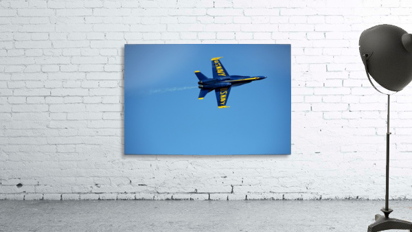Single USN Blue Angel Flying