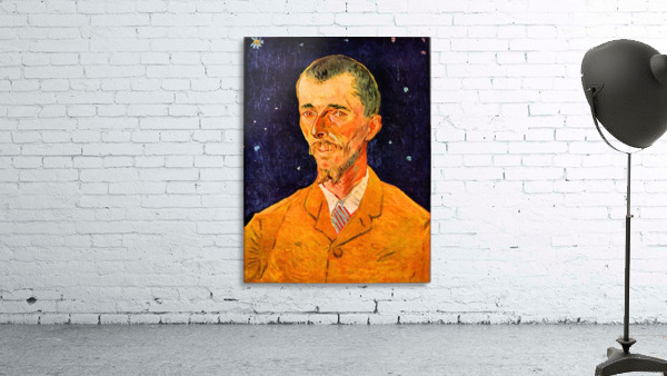 Portrait of eugene boch by van gogh canvas