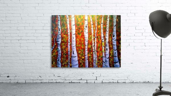 Funky Fall Birch