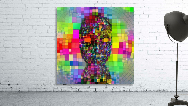 Mysterious Colorful Mask