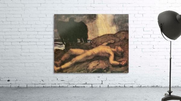 Prometheus by Franz von Stuck