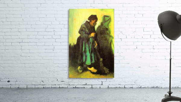 Return of the farmer by Van Gogh