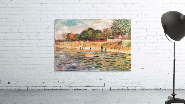 River bank by Van Gogh
