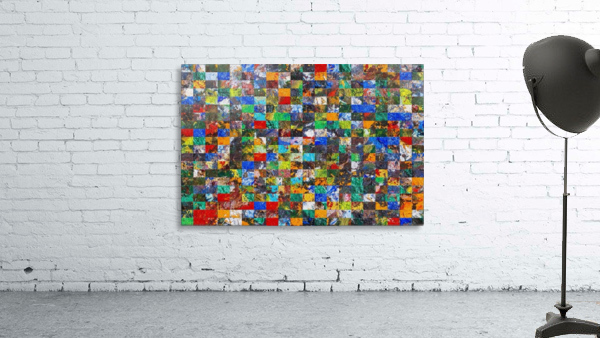 The Wall of Random Bricks