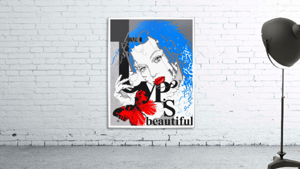 Type Is Beautiful - Typography Art Print
