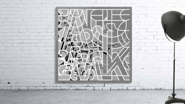 Type Is Deviant - Typography Art Print