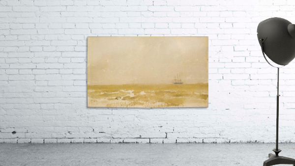 Seascape with Schooner by Whistler