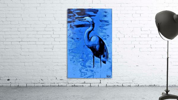 Bird in the Water -  by Neil Gairn Adams