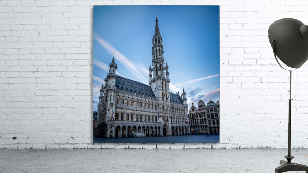 Town Hall in the Grand Place - Belgium