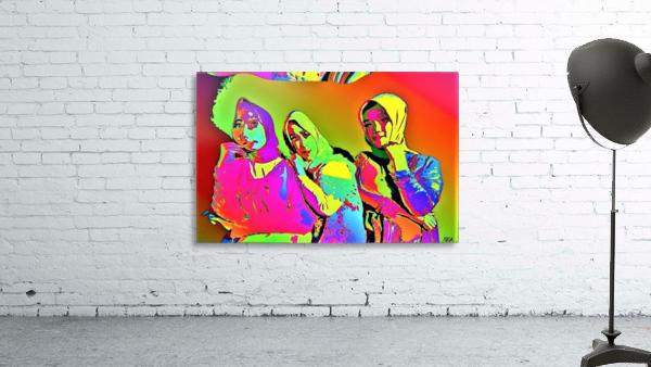Three Friends - by Neil Gairn Adams