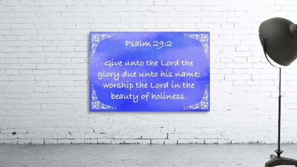 Psalm 29 2 5BL
