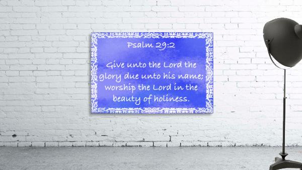 Psalm 29 2 10BL