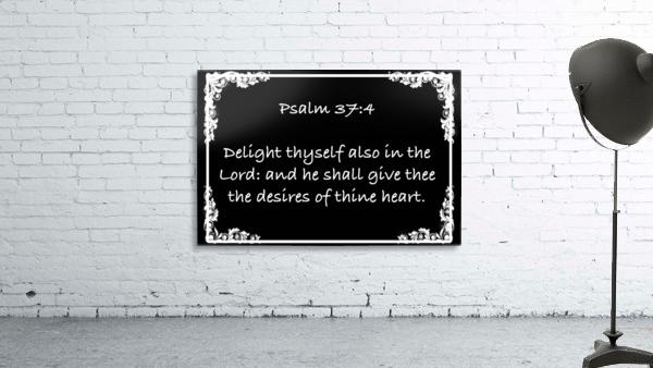 Psalm 37 4 8BW