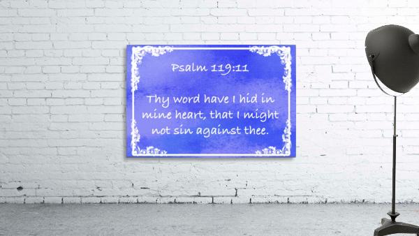 Psalm 119 11 8BL