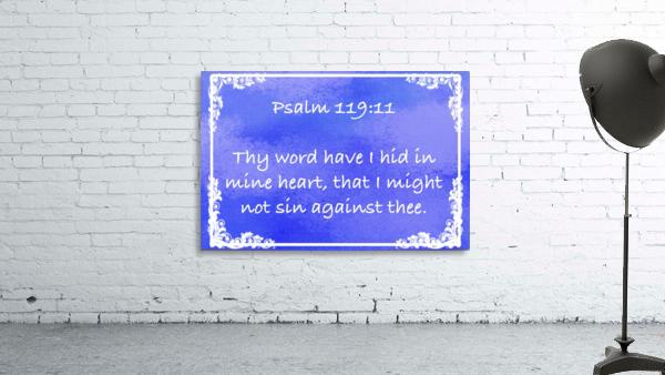 Psalm 119 11 9BL