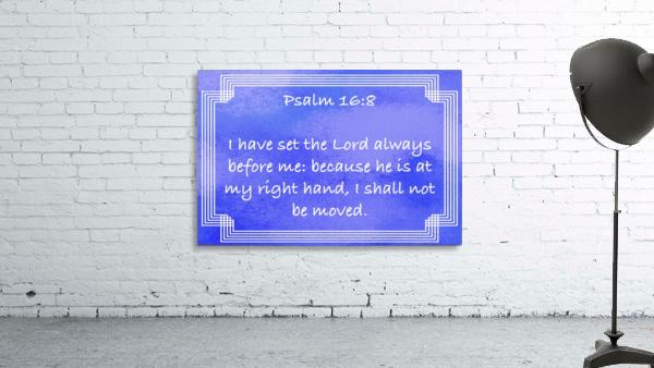 Psalm 16 8 2BL