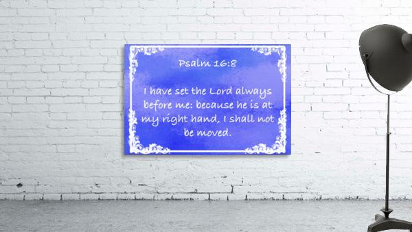 Psalm 16 8 9BL