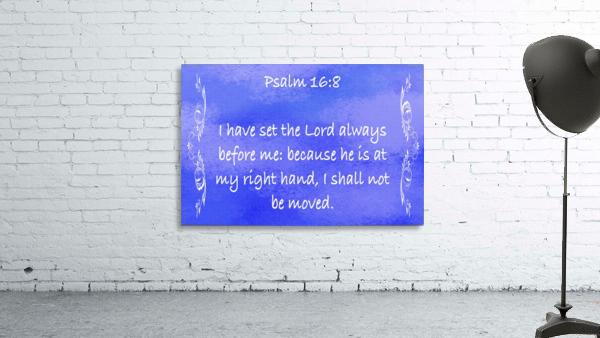 Psalm 16 8 4BL