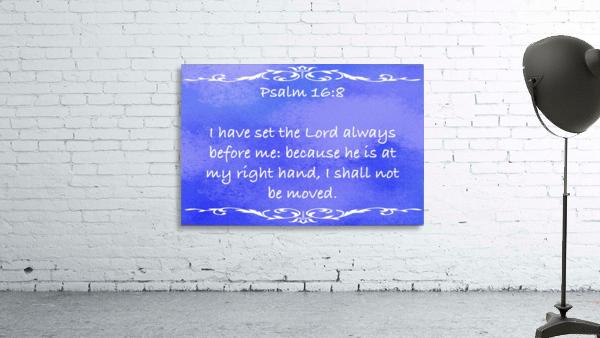 Psalm 16 8 3BL