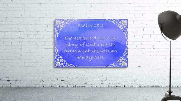 Psalm 19 1 1BL