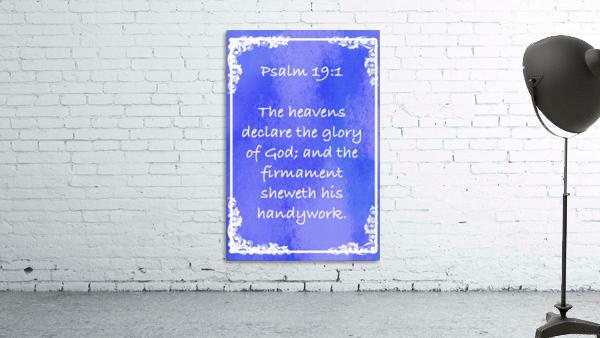 Psalm 19 1 8BL