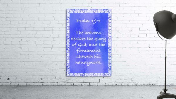 Psalm 19 1 10BL