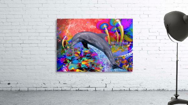 Dolphin Color Splash