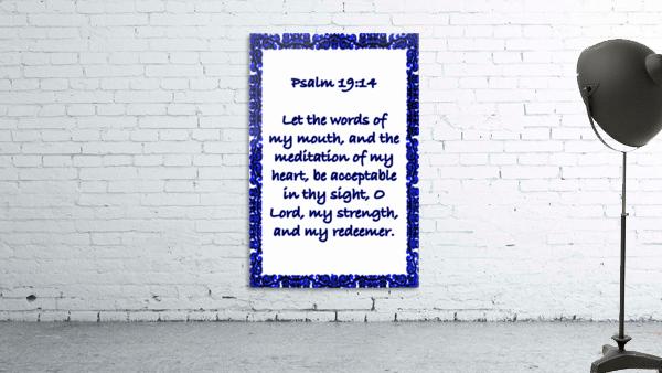 Psalm 19 14 10WBL