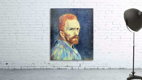 Self-Portrait with short hair by Van Gogh