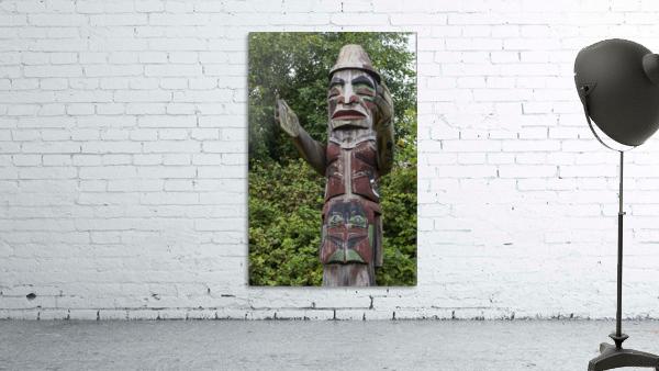 Totem pole of Granville Island 2