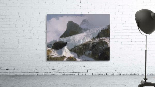 Athabaska Glacier Digital Painting 52 70 200px