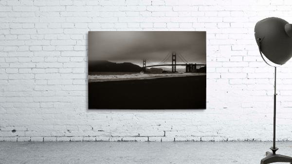 B&W Golden Gate