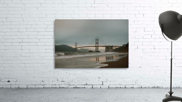 Golden Gate in the smog