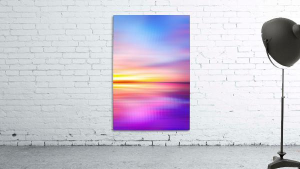 Abstract Sunset VII