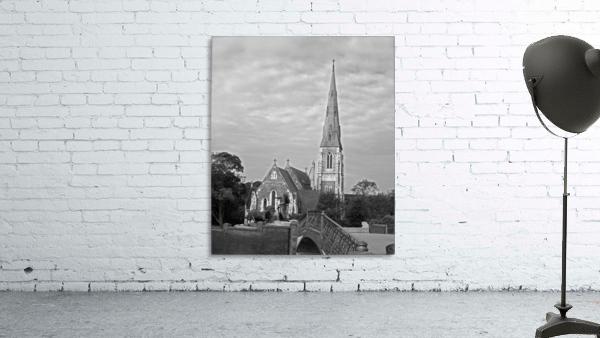 St. Albons Church B&W
