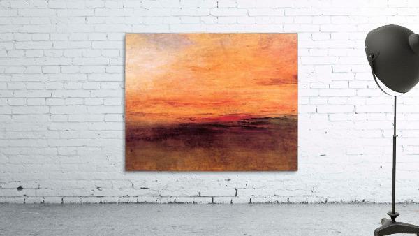 Sunset by Joseph Mallord Turner