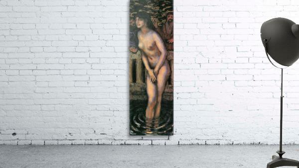 Susanna in the bath -2- by Franz von Stuck